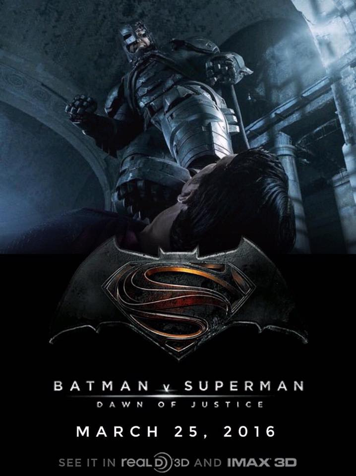 Batman V Superman Dawn Of Justice POSTER 5