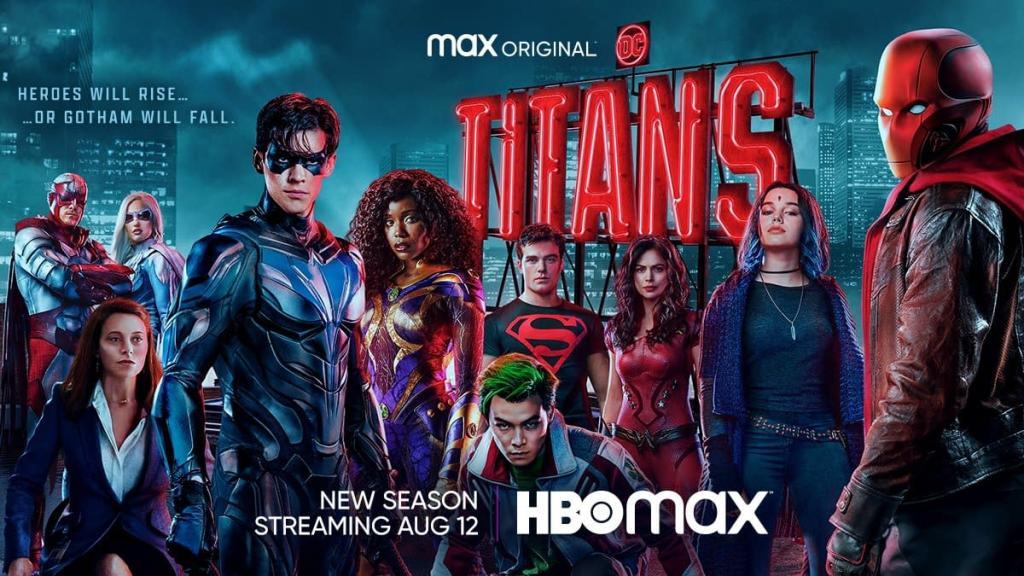 Titans, HBO Max