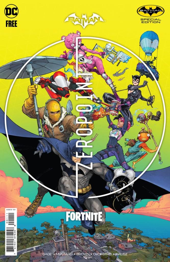 Batman, Batman Day, Fortnite, Zeropoint comic
