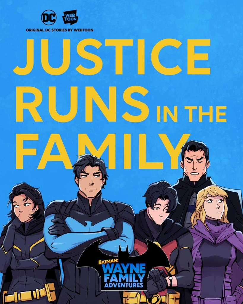 Batman, Batman Day, Wayne Family Adventures, Web Comic, Webtoon