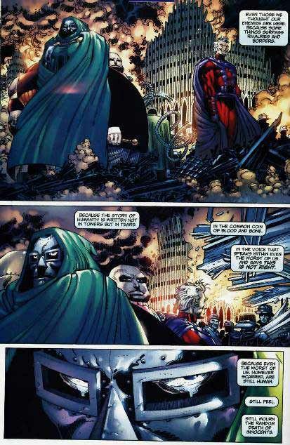 9/11, Spiderman, Spider-Man, Marvel, Marvel Comics, Marvel Villains, Doctor Doom