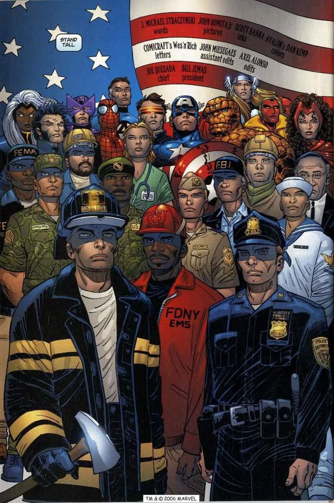 9/11, Marvel, Marvel Comics