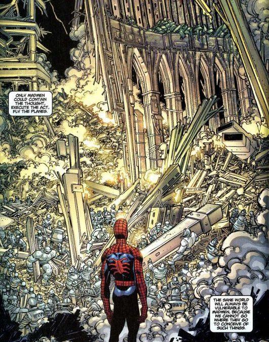 9/11, Spiderman, Spider-Man, Marvel, Marvel Comics