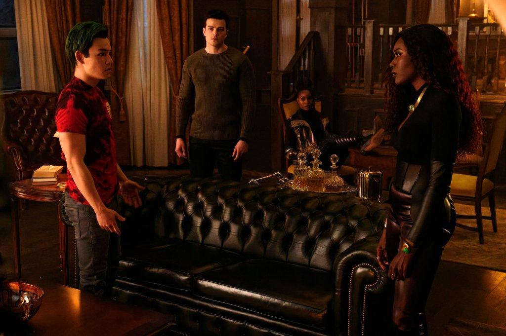 Gar, Beastboy, Superboy, Blackfire, Starfire, Titans, Titans Episode 8