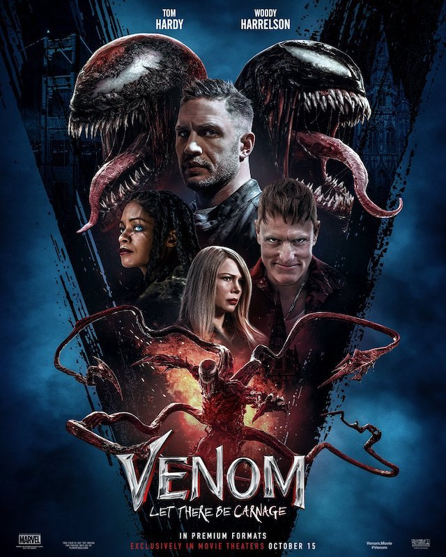 Venom, Venom 2, Venom: Let There Be Carnage, Spider-Man